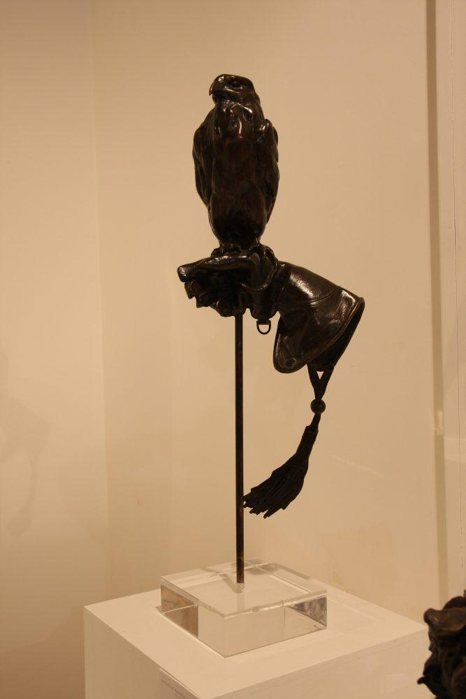 Falcon Bronze Statue