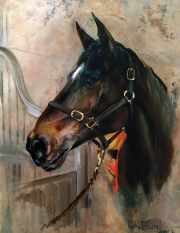 Commission Painting of a Horse
