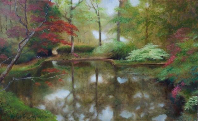 Exbury Oil Painting