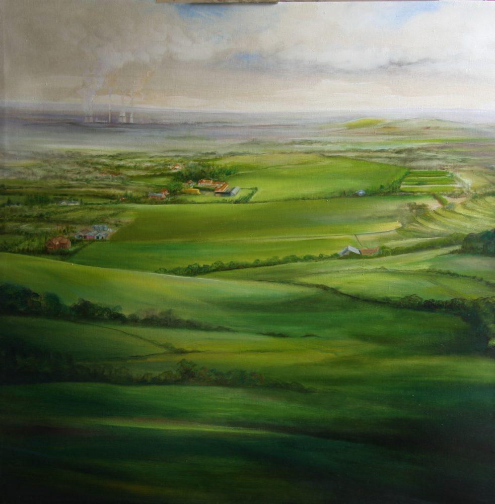 Oxfordshire Landscape Oil Painting