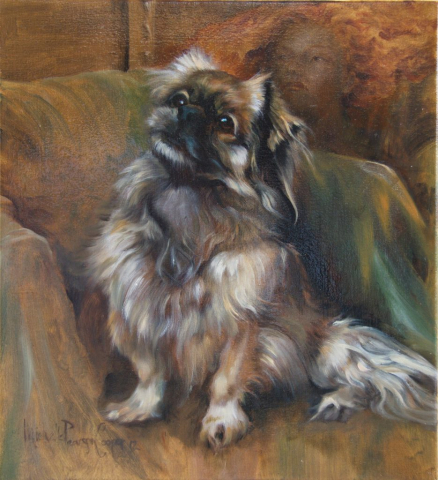 Commission Painting of a Dog