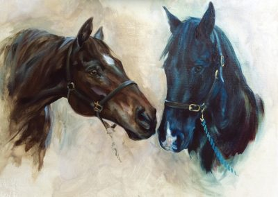 Horses Commissioned