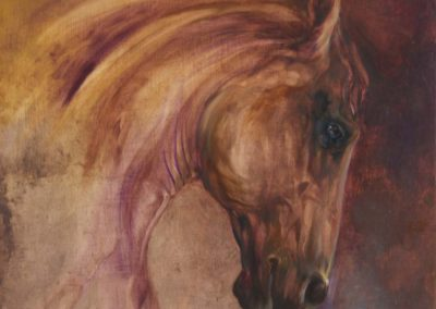 Andalusian Oil on Panel
