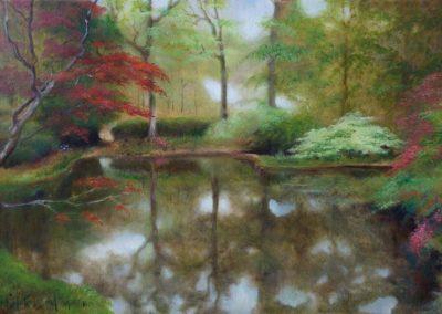 Exbury Oil on Canvas