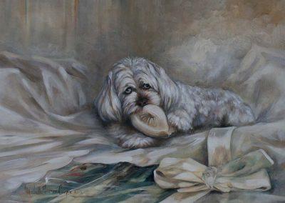'Hugo' Oil on Canvas 36 x 24 inches.