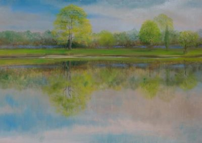 Reflected Glory Spring Oil on Canvas
