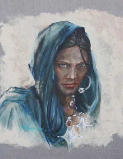 Targuia Print 10 x 10 inches.