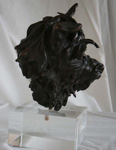 Tiggy Bronze Statue