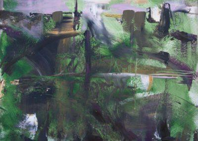 Water Under Bridge Oil on Canvas